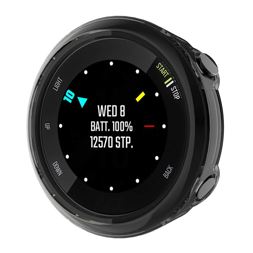 Everpertuk Funda Protectora de TPU Transparente Suave para Garmin Forerunner 45S Smartwatch Protector Cubrir C/áscara Marco