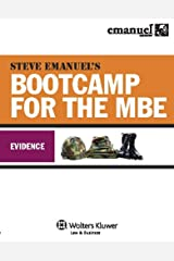 Steve Emanuel's Bootcamp for the MBE: Evidence (Emanuel Bar Review Series) Kindle Edition