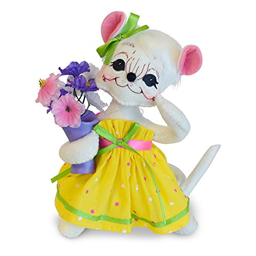 Annalee Spring - Annalee - 6in Bright Bouquet Mouse