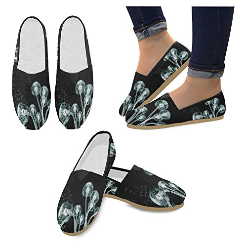 Sneakers Slip 10 Shoes Casual Flats Classic On Interestprint Canvas Womens Multi Fashion Loafers xqagn1Owz