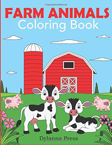 Farm Animals Coloring Book Animal product image