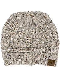 CC Confetti Knit Beanie - Thick Soft Warm Winter Hat - Unisex
