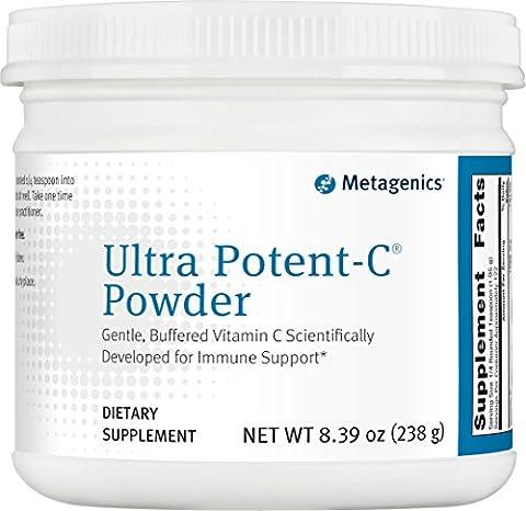 Metagenics Ultra Potent-C Powder -- 8 oz (Metagenics Ultra Clear Renew)