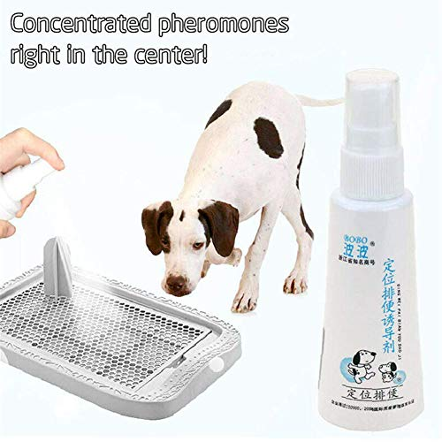 MeterMall 60ML Effective Pet Toilet Training Spray Dog Props Inducer pet