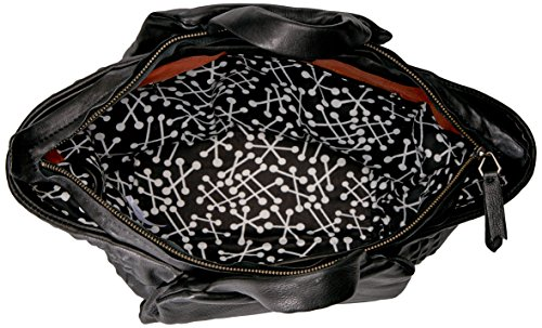 Liebeskind Berlin Damen Barakas7 Pyrami Tote, Schwarz (Nairobi Black), 21 x 29 x 14 cm