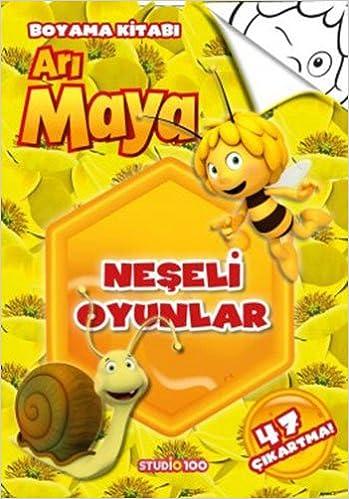 Ari Maya Neseli Oyunlar Boyama Kitabi 9786050934373 Amazoncom