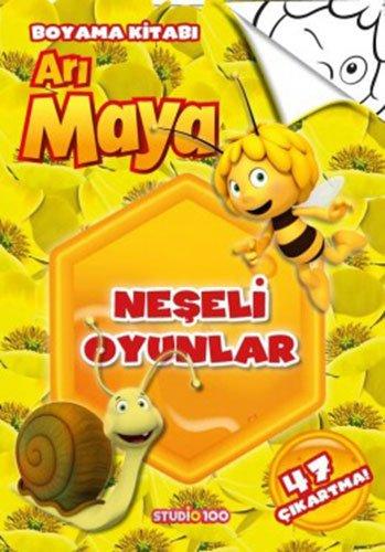 Neseli Oyunlar Ari Maya Boyama Kitabi Collective 9786050934373