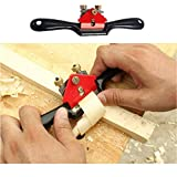 Anndason Adjustable SpokeShave with Flat Base and