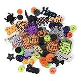 Buttons Galore VP316 50 Piece Halloween Buttons Value Pack