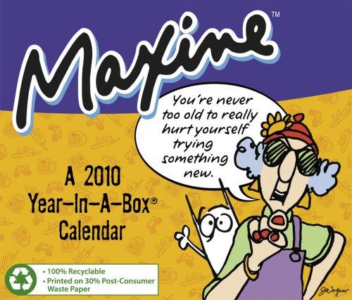 Maxine 2010 Year In A Box Calendar -