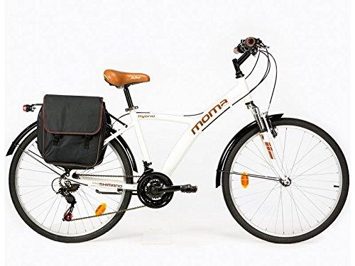 🥇 Moma Bikes Bicicleta Trekking / Paseo  HYBRID 26″