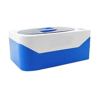Limpiador ultrasónico Digital con temporizador para limpieza gafas relojes anillos collares Medium USA Blue
