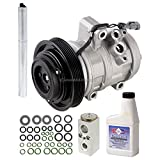 hummer h3 clutch - New AC Compressor & Clutch With Complete A/C Repair Kit For Hummer H3 - BuyAutoParts 60-82051RK New