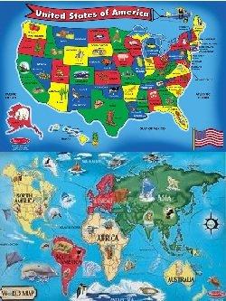 Doug World Map Floor - 5