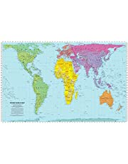 World View Peters Projection Map