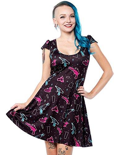 Sourpuss-Ray-Gun-Skater-Dress