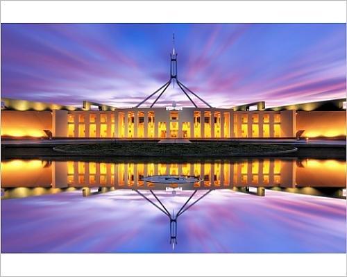 10x8 Print of Australian Parliament House, Canberra, Australia (12056430)