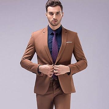 GFRBJK Abrigo Pantalones Diseños Traje de los Hombres Traje ...