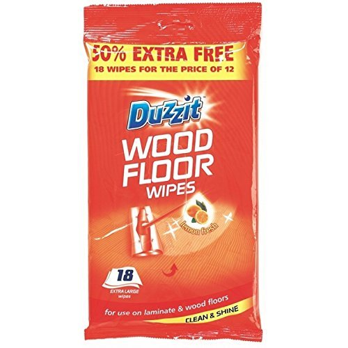 48 Wood Floor Wipes Jumbo/2 packs of 24 Duzzit