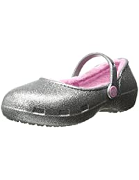 Crocs Karin Sparkle Lined Clog Mary Jane (Toddler/Little Kid)