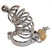 "Yocitoy 3 Size Ring (1.5""+1.75""+2"") Cock Rings Chastity with Lock Male Sex Toys"