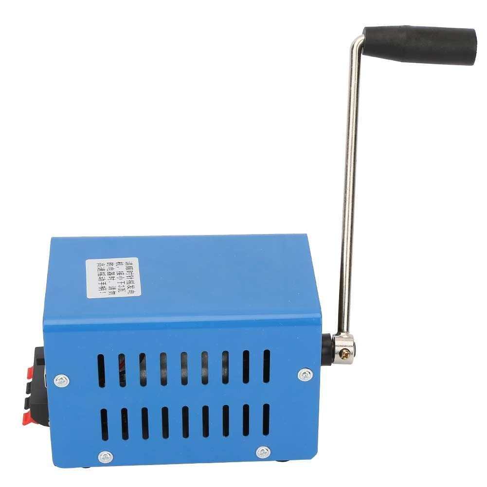 generador de Carga USB de Carga Dinam/ómetro de Emergencia Qinlorgo Generador port/átil de Alta Potencia con manivela