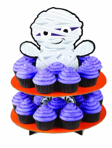 Wilton 1512-1678 Mummy 3-Tier Cupcake or Treat Stand