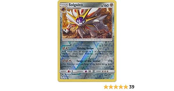 ☺ pokémon card solgaleo reverse 87//145 vf neuve-sl2 guards ascendants