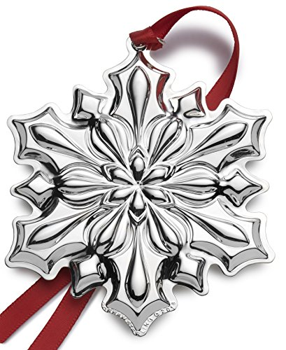 Annual Sterling - Gorham 2018 Snowflake Sterling Silver Christmas Holiday Ornament, 49th Edition