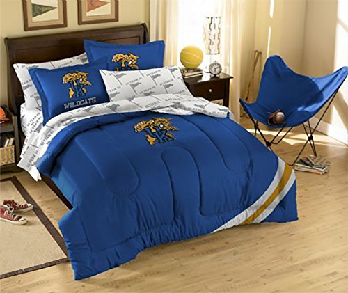 NCAA Kentucky Wilcats Full Bedding Set by Northwest