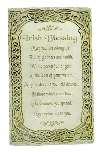 Amazoncom Irish Blessing May You Live A Long Life 8 Wall Plaque