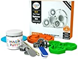 Magiktoys DIY Fidget Spinner Kit - Creative ADHD toys for kids, Focus on making something special. Kids get to enjoy Best Hands on Experience with Mom and Dad. Make anything with safe the Magik Putty
