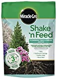Miracle-Gro 3002410 Shake 'N Feed Flowering Trees and Shrubs Continuous Release Plant Food, 8 lb, Brown/A