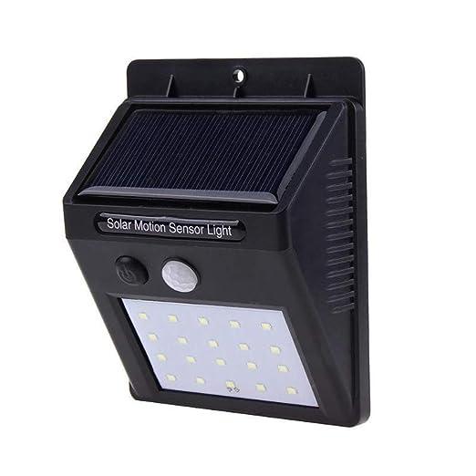 Timstore Lámparas solares de luz de Pared - Energía Solar Sensor ...