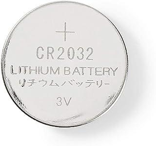 Nedis CR2 032 Lot de 5 Piles Bouton au Lithium 3 V