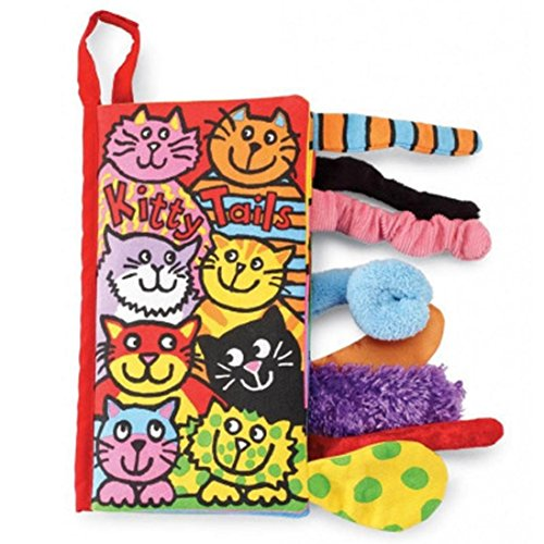 - Gbell Animal Tails Cloth Book,Baby(3-12 M) Toy, Development Books Learning & Education Books (F)