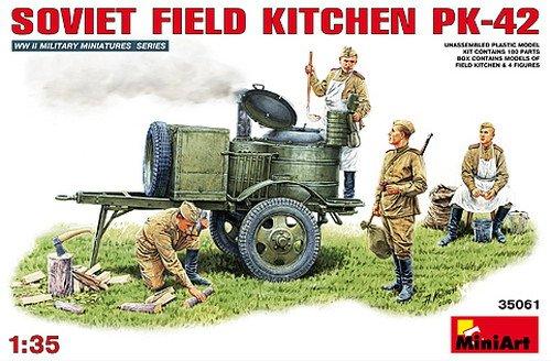 Mini Art Plastics Soviet Field Kitchen KP-42