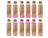 Panchal Creation 12 Pcs 1000 Ml Traditional Copper Bottle Storage Flask Ayurvedic Health Benefits