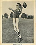 Signed Johnny Unitas Photograph - Team Issued 1960`s Certed 8x10 - JSA Certified - Autographed NFL Photos