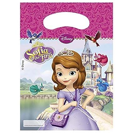 Vasara Bolsas de cumpleaños Princesa Sofía: Amazon.es ...
