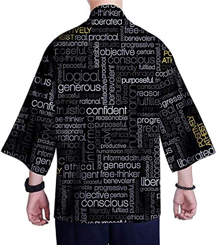 Japanischer Kimono-Strickjacke Hemd XXS-4XL Męskie Kimono Cardigan Top Yukata Kleidung Samurai-Kostüm (Farbe : Style 11, Size : XXXL): Küche & Haushalt
