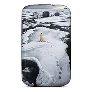 DaMMeke Galaxy S3 Well-designed Hard Case Cover The Polar Bear On Ice Floe Protector