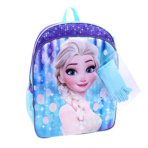 Disney Frozen Backpack Pockets Gloves