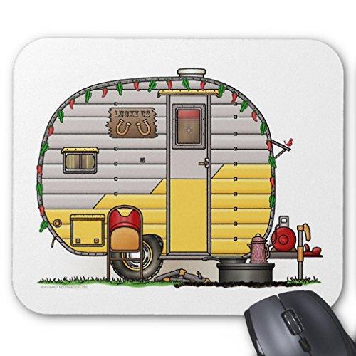 Price comparison product image Zazzle Little Western Camper Trailer Mouse Pad