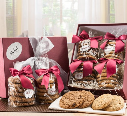 Dulcet's Oatmeal Raisin and Macadamia Cookie Sampler Gift Box-24 Count