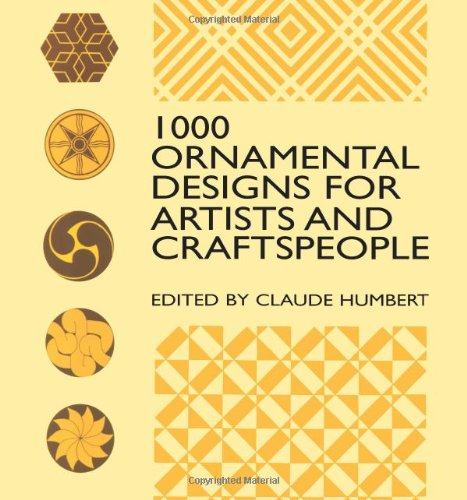 1000 Ornamental Designs for Artists and Craftspeople (Dover Pictorial Archive) pdf epub