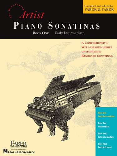 Piano Sonatinas - Book One: Developing Artist Original Keyboard Classics (The Developing Artist) (Tapa Blanda)