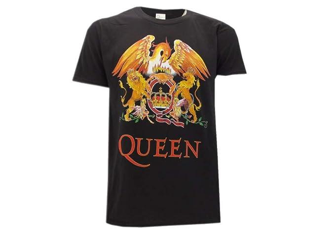 lindo baratas nueva lanzamiento reputación primero Queen Camiseta con Logo Vintage clásico Música Rock Freddie Mercury -  Oficial