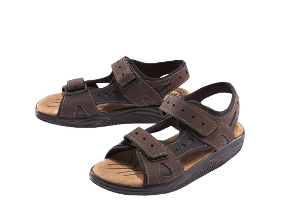 Esmara Damen Aktiv Sandalen Sommer Aktivschuhe Schuhe Freizeitschuhe Abrollbewegung Sandalen (Braun, 37)