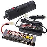 Traxxas Revo 3.3 * EZ-START CONTROL BOX - 7.2v 1800 mAh BATTERY - & 2 AMP CHARGER